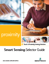 Semtech Proximity Smart Sensing Selector Guide