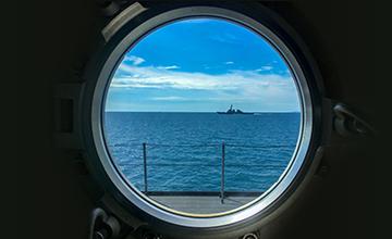 LoRa secure naval ports