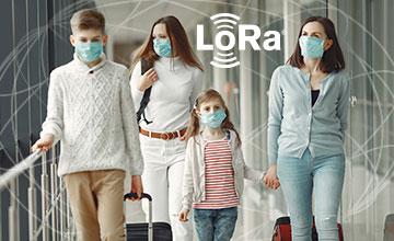 LoRa smart infared temperature sensor