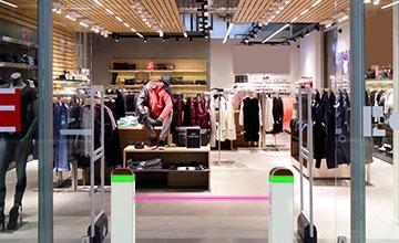 LoRa smart retail footfall monitoring