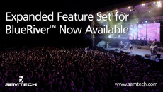 Semtech Announces Immediate Availability of Expanded Feature Set for BlueRiver™ AV-over-IP Platform
