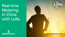Semtech's LoRa Technology Manages China Utilities in Real-time Kaifa Metering's LoRa-enabled IoT solution connects meters to the Cloud for smart utility management for up to 25% water savings