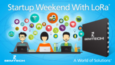 Semtech Announces Technology Sponsorship of Startup Weekend Ventura County Participants to build compelling Internet of Things solutions for healthcare and agriculture applications in hackathon-style event using Semtech LoRa® RF technology