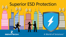 Semtech's New μClamp® 3381P Provides Superior Protection from ESD and Electrical Overstress in Industrial and Consumer Data Interfaces The 3.3V, surge rated μClamp3381P expands the MicroClamp platform providing protection for electronic devices from