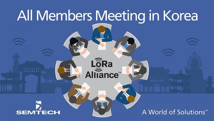 Semtech, LoRa Alliance™ Members to Showcase LoRaWAN™ IoT Solutions at All Members Meeting