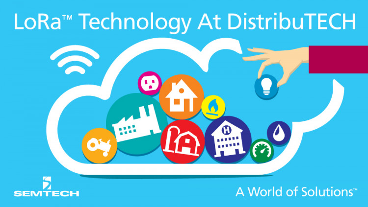 Semtech LoRa™ Technology on Display in a Wide Variety of IoT Demonstrations at DistribuTECH 2016 Semtech teams up with MultiTech to showcase smart, connected solutions for agriculture, oil, water and gas monitoring, building automation, and health and s