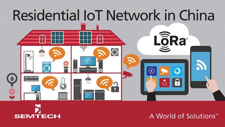 Semtech LoRa Technology Enables IoT Services in China's Largest Private Telecom Network Dr. Peng Group deploying LoRa network expected to cover 100 million homes and 300 million people