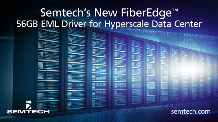 Semtech FiberEdge 56GB EML Driver