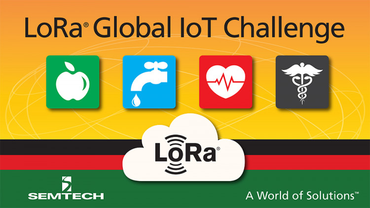 Semtech Technology Featured in Contest for Building a Safer, Smarter, More Sustainable World Second global Internet of Things challenge focuses on solutions in four categories – food, water, health and safety – with winners to be selected by LoRa Alli