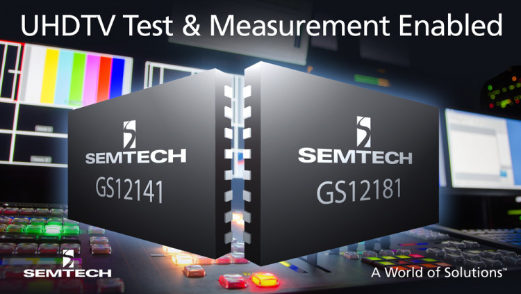 Semtech Enables Leader Electronics' UHDTV Test and Measurement Platform with Next Generation 12G UHD-SDI Interface Product Portfolio Leader Electronics uses Semtech's 12G UHD-SDI retiming cable equalizer and cable driver to enable its UHDTV waveform m