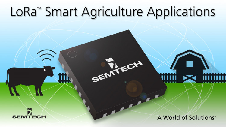 Semtech LoRa™ Wireless RF Technology Selected by Quantified Ag for Smart Agriculture Applications LoRa™-based wearable technology for tracking cattle helps improve animal welfare and productivity on feedlots