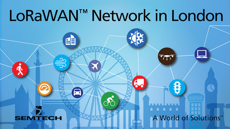 Semtech LoRa® Technology Incorporated into Largest IoT Network in the UK LoRa Alliance™ member Digital Catapult launches free LoRaWAN™-based network across London to foster IoT innovation by digital startups and small to medium-sized enterprises (SME