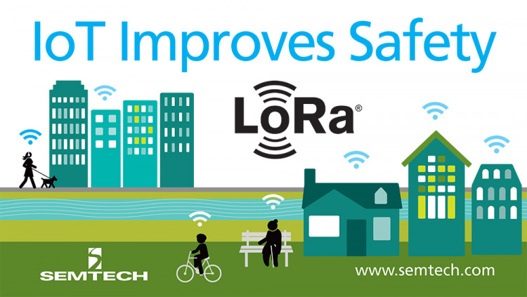 Semtech Innovates in the Smart Home and Healthcare Industries with Next-Generation IoT Solution Integrated with Semtech's LoRa Technology, the wearable devices track users close to their home to improve safety and protection