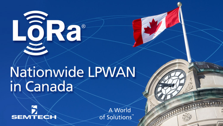 Semtech LoRa Technology Enables Nationwide LPWAN in Canada eleven-x uses LoRa Wireless RF Technology to launch first carrier-grade low power, wide area network (LPWAN) in Canada