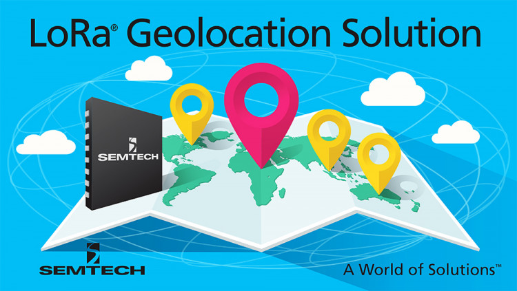 Semtech's LoRa® Geolocation Solution for Low Power Wide Area Networks is Now Available First-to-market geolocation solution adds GPS-free tracking capability to LoRaWAN™ networks