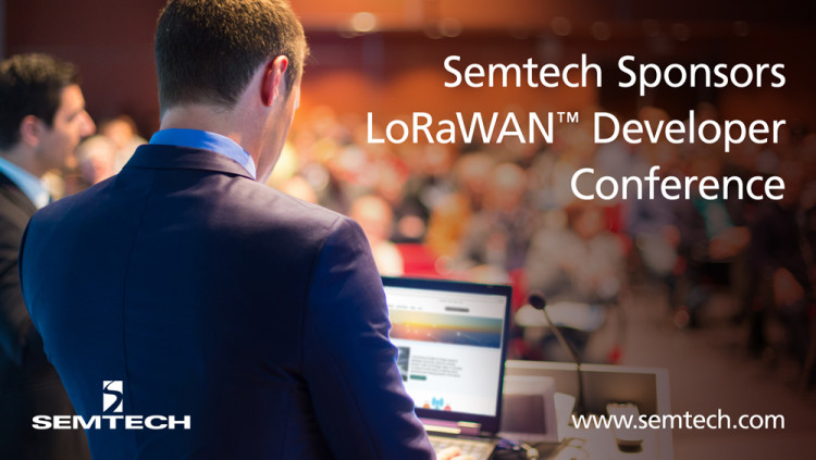 Semtech Sponsors The Things Network's LoRaWAN Developer Conference The 3-day developer conference features a keynote from Semtech's LoRa Technology experts