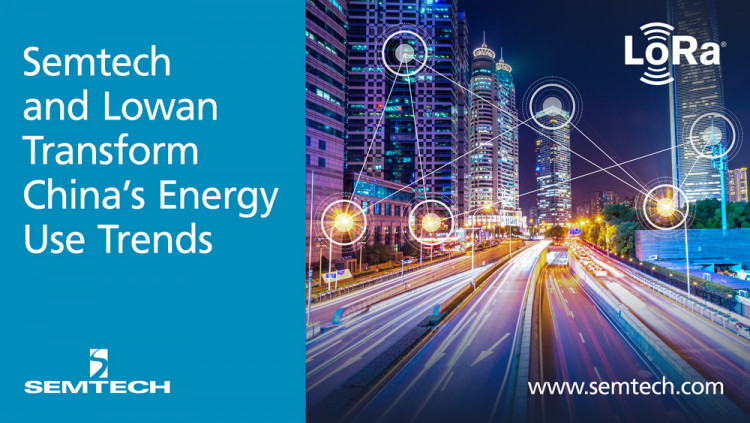 Semtech and Lowan Transform China's Energy Use Trends with LoRa Technology With Lowan's smart city solutions, large urban areas are more energy efficient by leveraging LoRa-based sensors