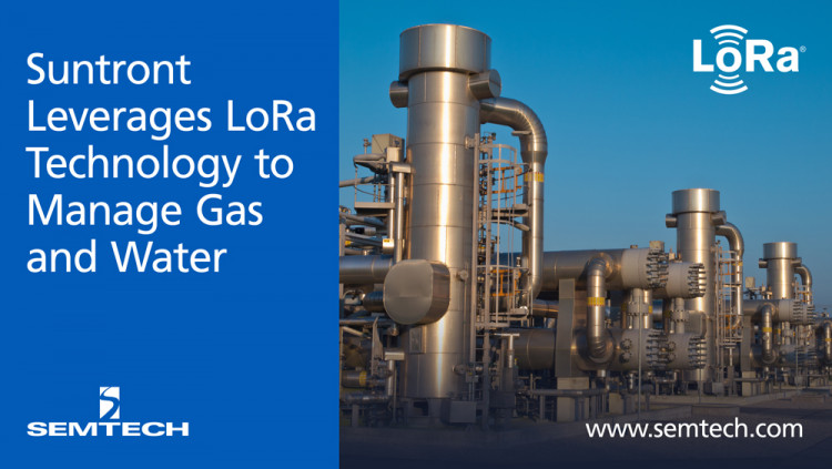 Semtech's LoRa Technology and Suntront Manage Utilities in China for a Smarter, Cleaner Planet Smart utility IoT (Internet of Things) solutions automate gas and water management, minimizing costs and maximizing efficiency