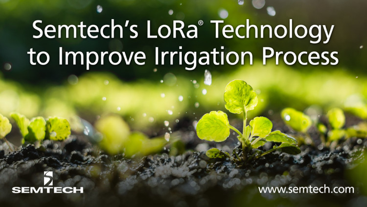 Semtech and WaterBit Improve the Irrigation Process in Smart Agriculture WaterBit's low-cost Autonomous Irrigation Solution is designed to supply farmers with accurate, real-time data