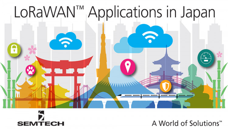 New LoRaWAN™-based Network in Japan Now Open for Field Testing Internet of Things Applications Semtech LoRa® technology to be used by NTT West in its new low power, wide area network for field tests
