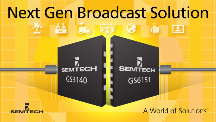 Semtech's SDI Cable Equalizer and Reclocker Products Adopted by Nevion for Next Generation Media Converter Nevion utilizes Semtech's advanced ultra-low power SDI cable equalizer and reclocker for its UMC-EOOE-4-SFP Universal Media Converter