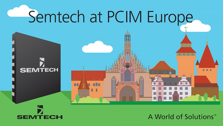 Semtech to Showcase Portfolio of Protection, Wireless Charging, Isolated Switching and LoRa™ Wireless Platforms at PCIM Europe 2016