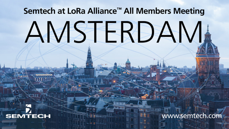 Semtech to Attend LoRa Alliance 10th All Members Meeting The three day event will focus on the LoRaWAN™ network roadmap and is co-located with the Things Network LoRaWAN Developers Conference