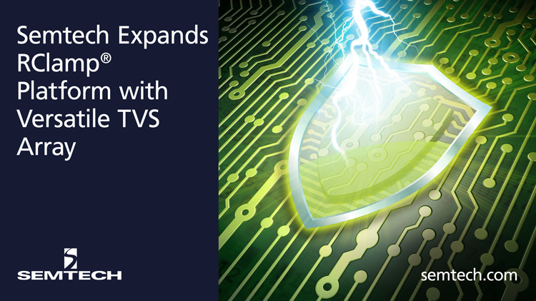 RClamp Versatile TVS Array