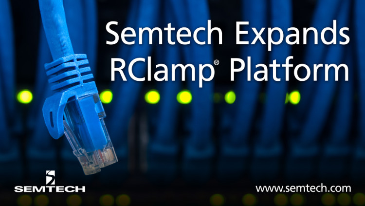Semtech Expands RClamp Platform to Safeguard Telecom and Industrial Applications from Surge and Electrostatic Discharge (ESD) Threats Semtech's RClamp2594N provides superior protection for data-line interfaces from dangerous ESD and surge threats