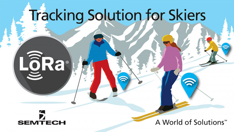 Semtech LoRa® Wireless RF Technology Used to Keep Skiers Safe in the Swiss Alps TalkPool to deploy LoRaWAN™ network to track skiers on the slopes of the LAAX mountain resort in Switzerland