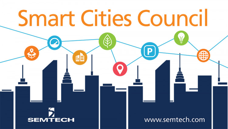 Semtech Joins Smart Cities Council to Collaborate on Smart City IoT Solutions With the growing demand of U.S. smart cities and investments of $165 million, Semtech's LoRa Technology is an important component to wireless infrastructure