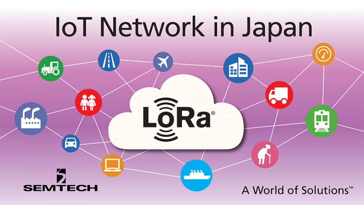 Semtech LoRa® Wireless RF Technology Chosen by SoftBank for New IoT Network in Japan LoRa Alliance™ members Semtech, Actility and Hon Hai Precision Industry to design LoRaWAN™-based low power, wide area network