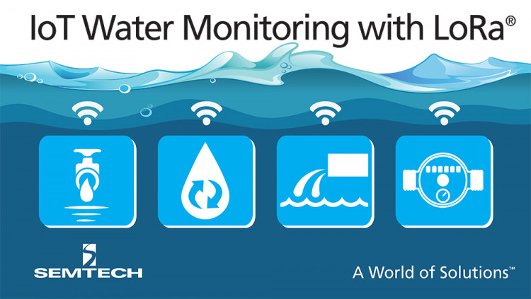 Semtech LoRa Technology Used by Trimble for IoT Water Monitoring Sensor Series LoRa Technology used in Trimble's Telog 41 Series of smart water monitoring solutions for utility companies
