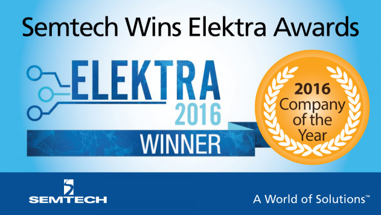 Elektra award PR graphic