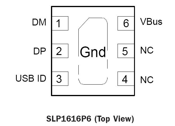 dm pin diagram