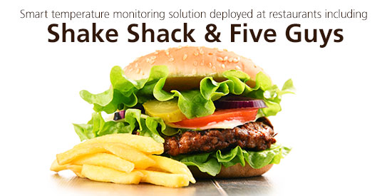 ComplianceMate Laird Five Guys ShakeShack LoRa
