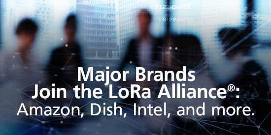 Major Brands Join LoRa Alliance