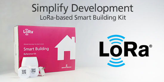 LoRa Smart Building Reference Kit