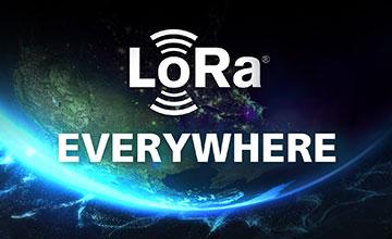 LoRa everywhere infographic