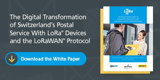 LoRaWAN® Networks Improve Access to Switzerland's Postal Service